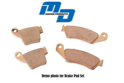 MD MOTOCROSS BRAKE PADS FRONT REAR SET KMX 125 99-03