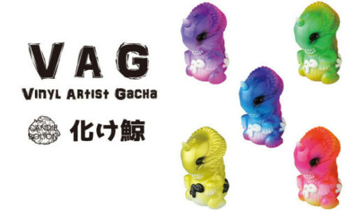 MEDICOM VAG Series 15 VINYL ARTIST GACHA Set Candie Bolton Bake-Kujira Whale