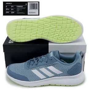 factory authentic 8db3f 3178f Image is loading Adidas-Women-Argency-Shoes-Running-Skyblue-Casual-Training-
