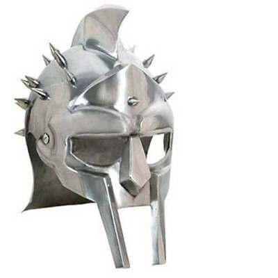 Tv, Film & Game Replica Blades Intellective Gladiator Maximus Roman Spiked Helmet Functional 18ga Carbon Steel ' Aromatic Character And Agreeable Taste