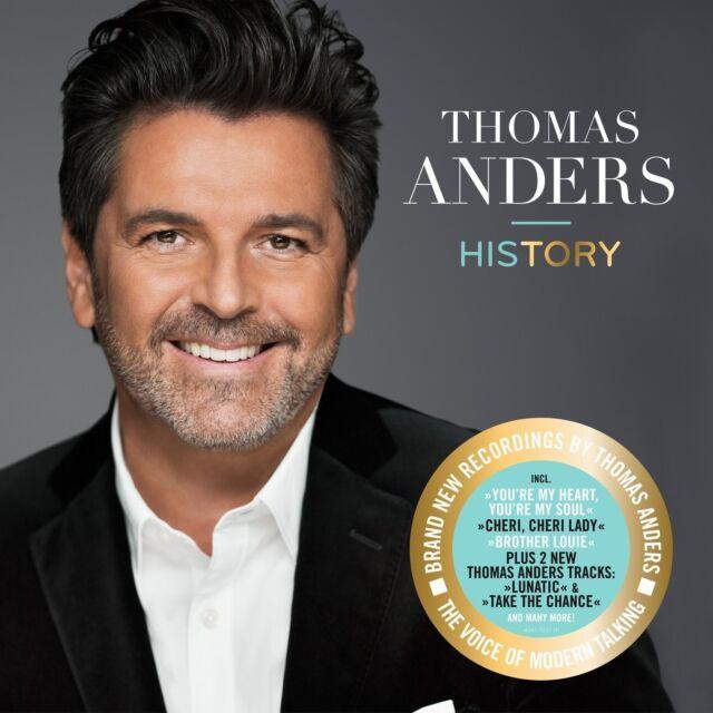THOMAS ANDERS - HISTORY DIE STIMME VON MODERN TALKING 2 VINYL LP NEW!