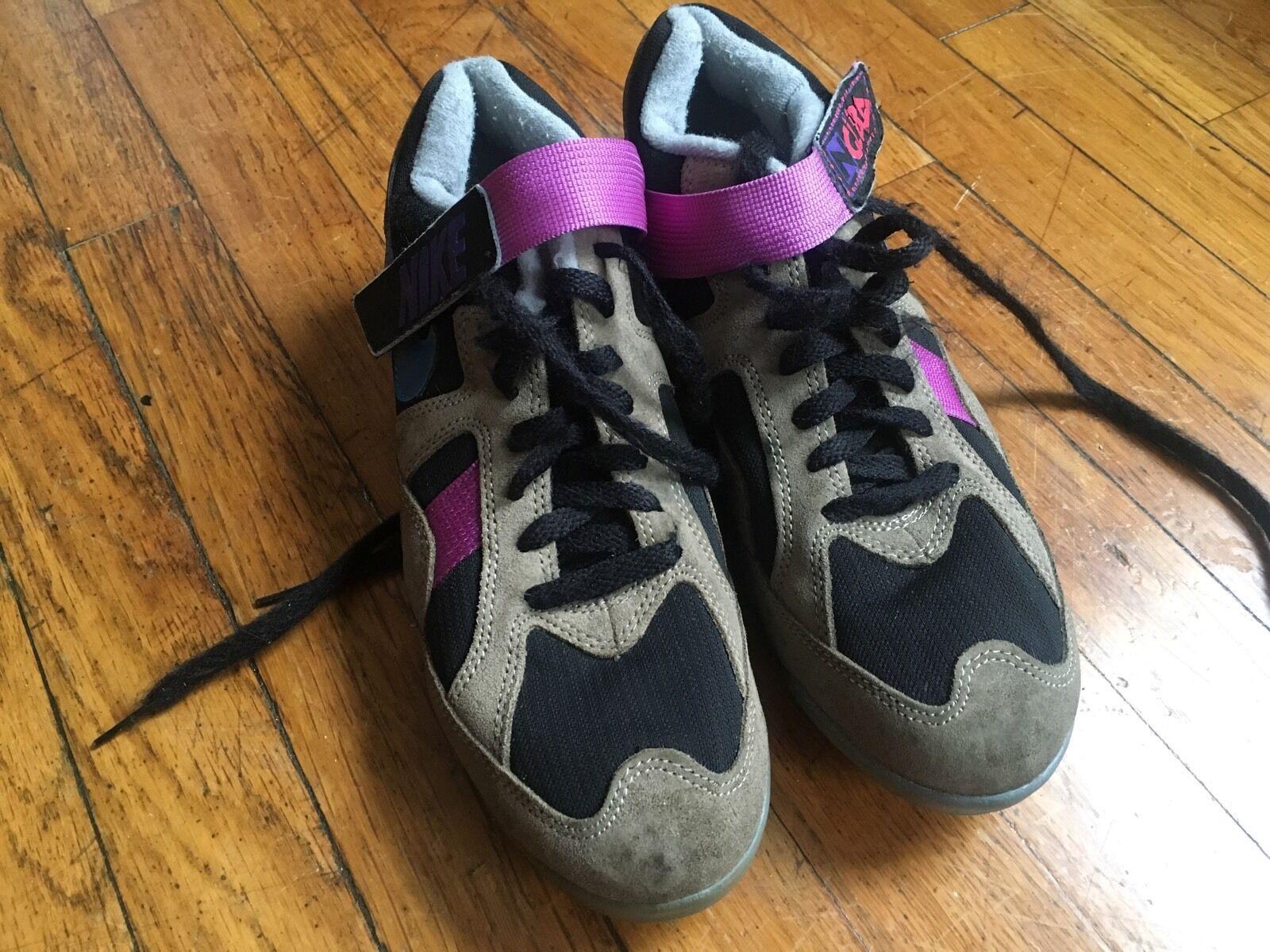 nike - baskets baskets baskets taille haute concord femmes 315057-411 chaussures bleu violet de 8 ad7362
