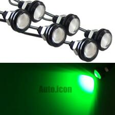 6pcs 3W Green COB LED Eagle Eye Lights For Cars Motorcycle DRL Fog Ground Effect