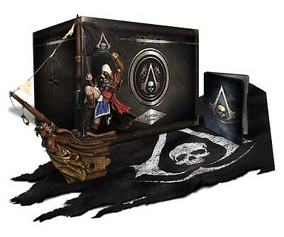 ASSASSINS CREED 4 BLACK FLAG BLACK CHEST EDITION WITH STANDARD PS4 GAME