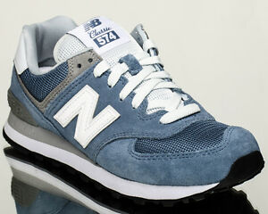 New Balance WMNS 574 NB women lifestyle casual sneakers navy WL574 ... 26e6f18f8bbc4