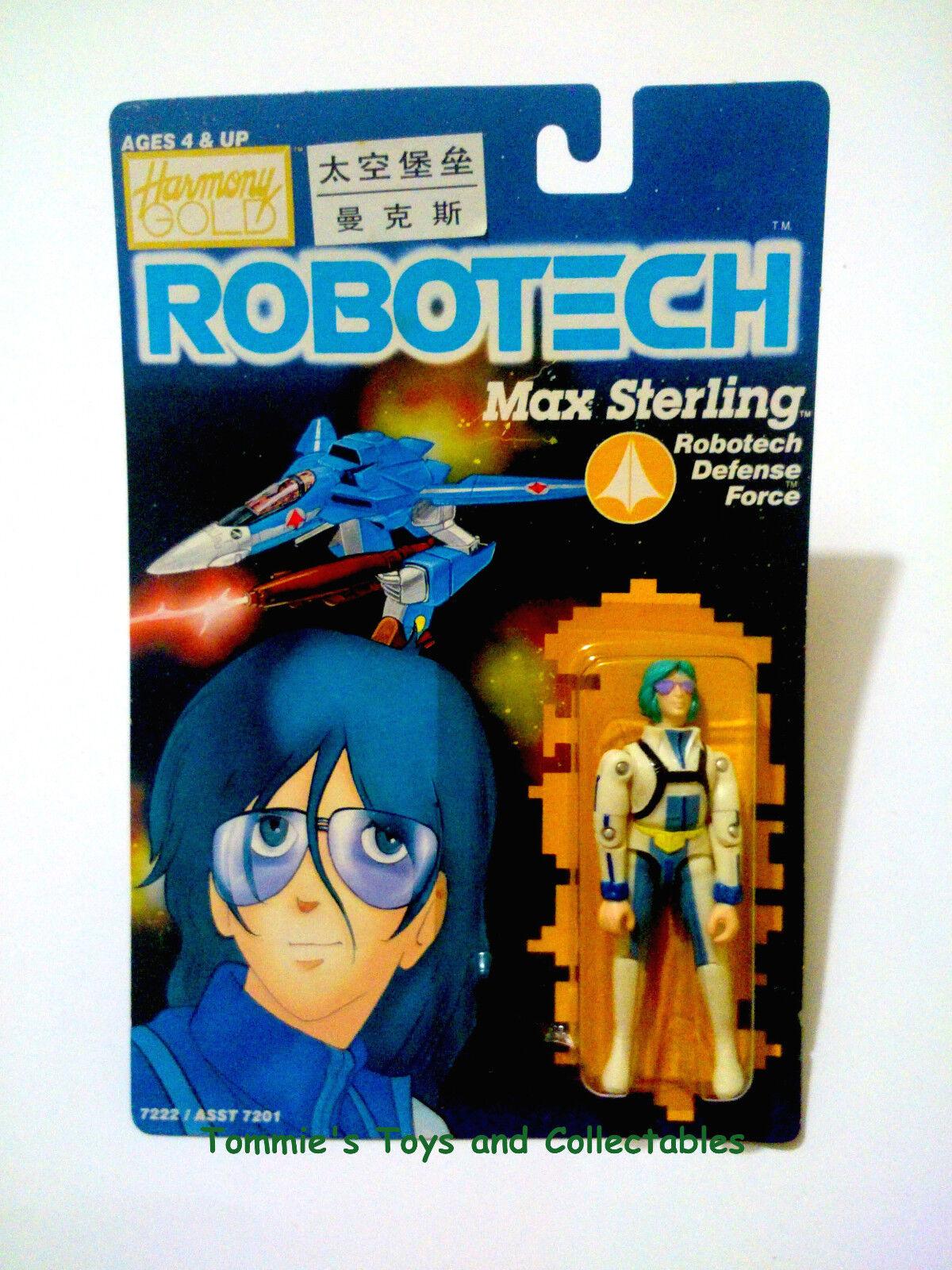 Robotech max sterling defense harmony force harmony defense gold 80er moc versiegelt 076ebb