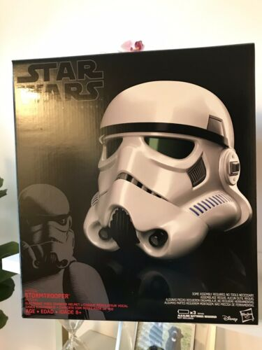 Star Wars Black Series Rogue One Stormtrooper Voice Changer Helmet FREE SHIPPING
