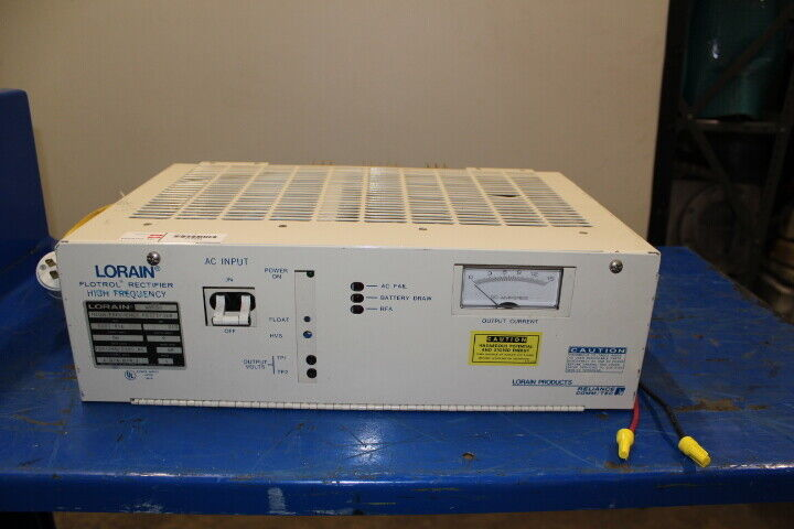 Lorain Flotrol A50f50 5438 013 50 Amp High Frequency Rectifier For