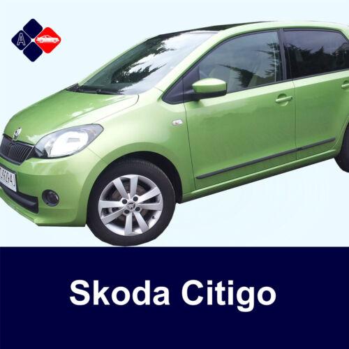 Skoda Citigo 5D Rubbing StripsDoor ProtectorsSide Protection Mouldings Kit