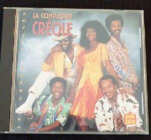 Audio-CD-La-Compagnie-Creole-Les-Grands-Succes-Select-Canada-Records