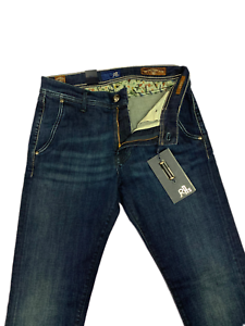 Jeans-ROY-ROGERS-Uomo-Mod-ELIAS-RRS-TAKAKI-Nuovo-e-Originale-Denim
