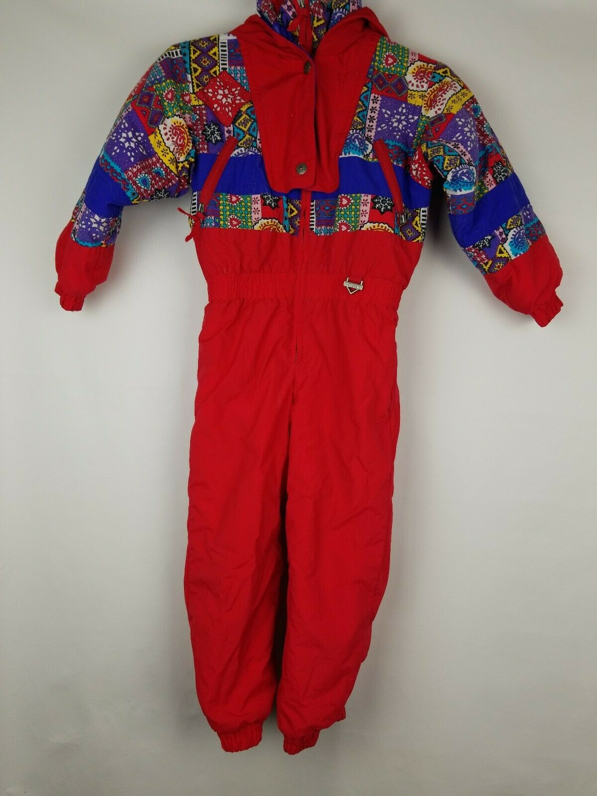 Vintage Fera Junior Size 6 Snowsuit   Ski suit Bib
