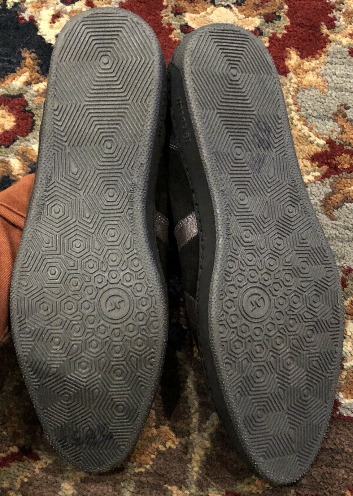 TE CASAN Limited Edition 5 100 nero pewter leather suede suede suede scarpe da ginnastica scarpe 38 8 e17b28