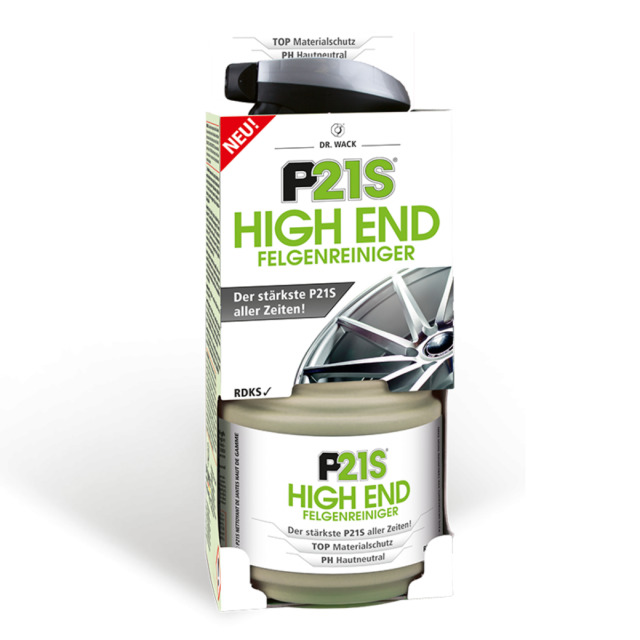 (EUR23, 72/L) Dr. Wack P21S High End Limpiador Ruedas 750ML