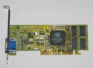 MicroStar nVidia GeForce2 MX AGP 32MB SDRAM MS-8817 Graphics Video Card