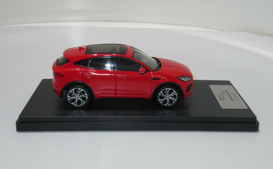 Original jaguar coche coche coche modelo e pace amarillostone rojo 1 43 50 jedc 279rdy e-pace rojo 02c4e2