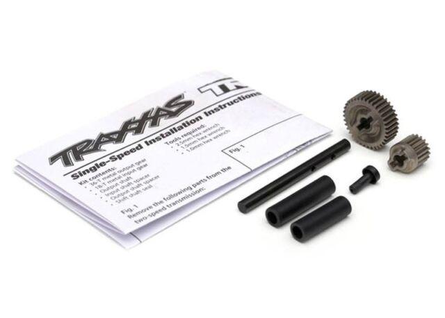 Getrieberäder + Wellen, Single-Speed, Metall TRAXXAS TRX-4 8296