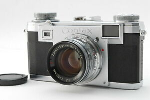 EXC-5-Contax-IIa-Rangefinder-Camera-Zeiss-Opton-Sonnar-50mm-f2-from-JAPAN-932N