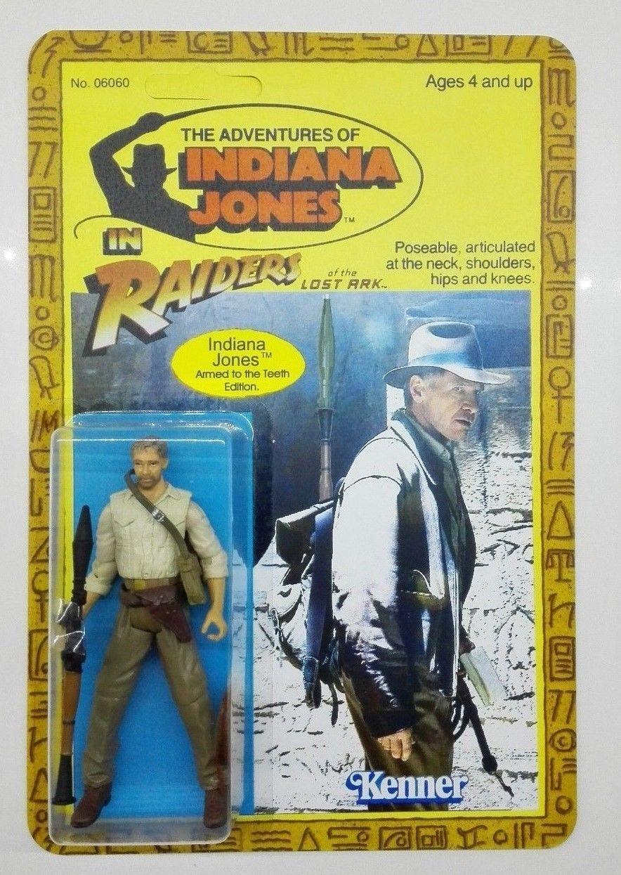 Figurine Indiana Jones neuve neuf Kenner Revendeur