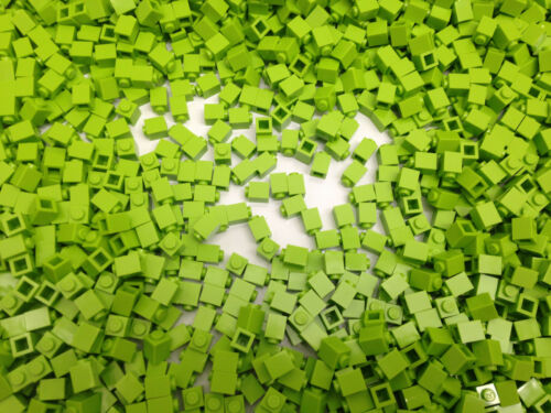 Lego 3005 LIME GREEN 1x1 Brick 50 Pieces Per Order Brand NEW