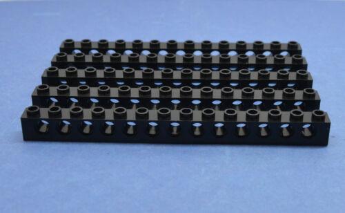 LEGO 5 Technik Technic Lochstein Lochbalken 1x14 32018 schwarz black hole brick