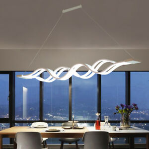 60W-lampadario-moderno-LED-da-soffitto-sospensione-luce-del-pendente-Bar-onda