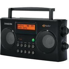 Sangean Am and FM HD Portable Radio Snghdr16 for sale online