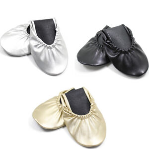 Women-039-s-Foldable-Portable-Travel-Ballet-Flat-Shoes-w-Matching-Carrying-Case