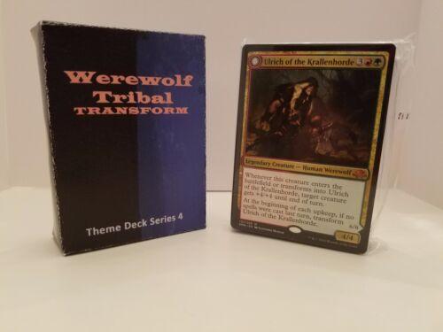 Werewolf Tribal Transform Magic the Gathering MTG Modern  /& Theme Decks