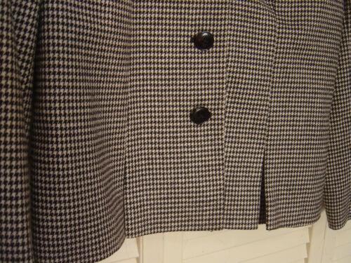completo pezzi Dimensione felpa in tacca 2 nero 9 8 di sasson lana gonna Womens bianco felpa Foderato e Rwv445x
