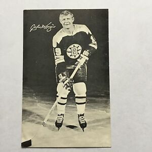 1970 Boston Bruins Team Issue Postcard Size Hockey Card ...