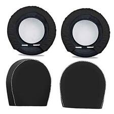 Spare Tire Cover For Trailers Tire Covers 4 Packfour Layers Dia 32in Black