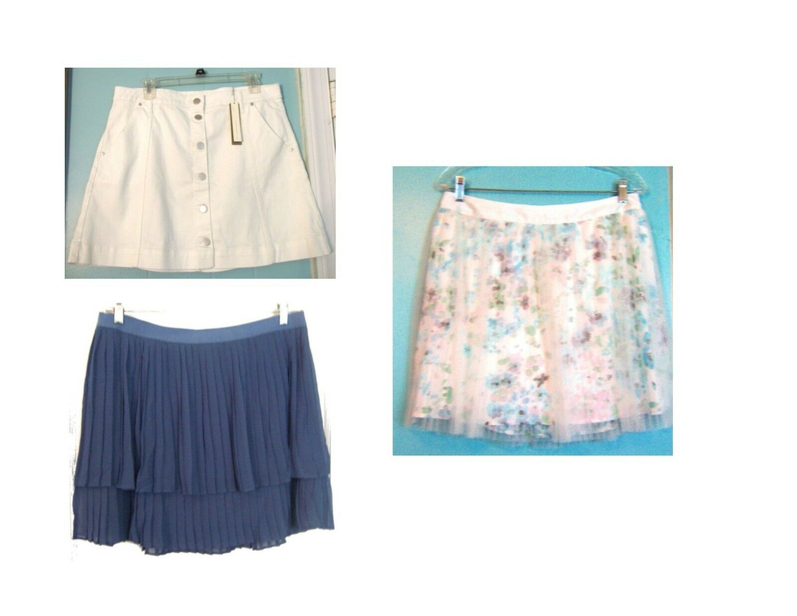 Lauren Conrad A Line Skirts Above Knee Skirts NWT 44- 50 Sz L-XL