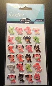 3D-Sticker 7,5x12cm Sticker Set Cooky Piraten Maildor 24 tlg