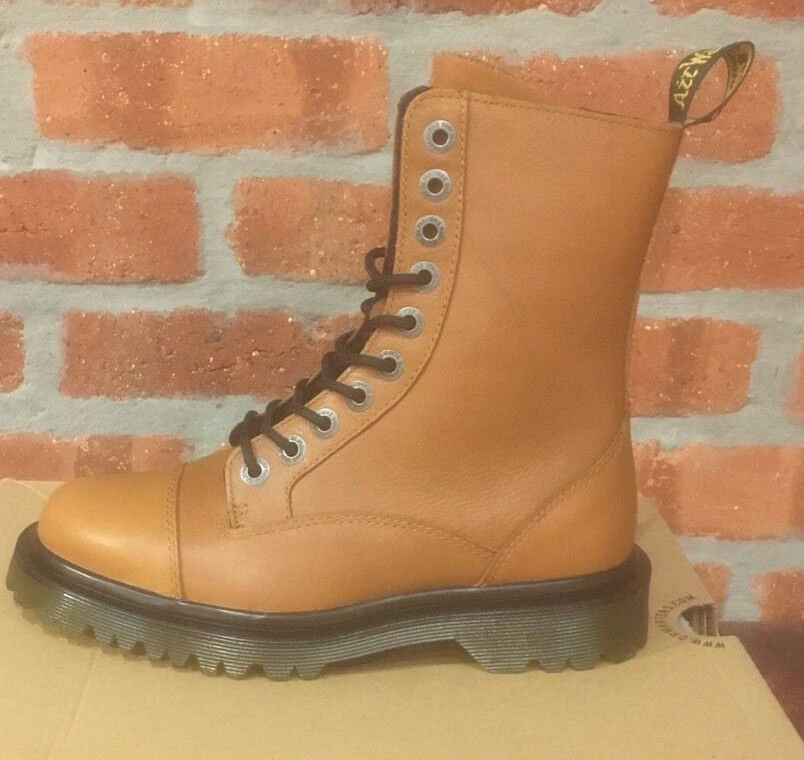 DR. MARTENS JUSTYNA TAN LEATHER CAMBRIDGE (CBG)   LEATHER TAN  Stiefel SIZE UK 3 5cd1b4