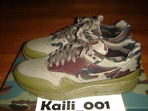 Details about Nike Air Maxim 1 France SP Size 12 Max 607473 200 Camo B