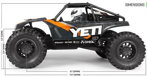 Rc Cars For Sale >> Axial Yeti Ax90054 Jr 1 18 4wd Rtr Rock Racer Rc Cars Ep Truck