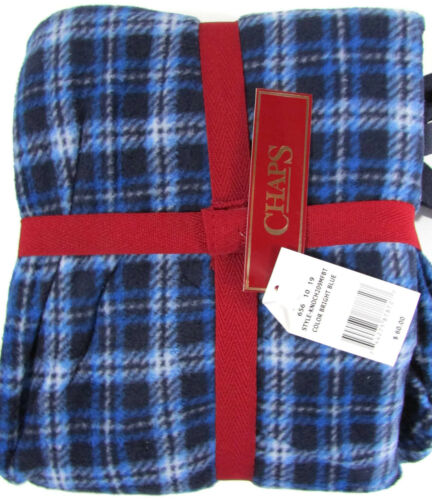 Chaps Men Big and Tall Pajama Set Micro fleece Pants Henley Top Relaxed Fit