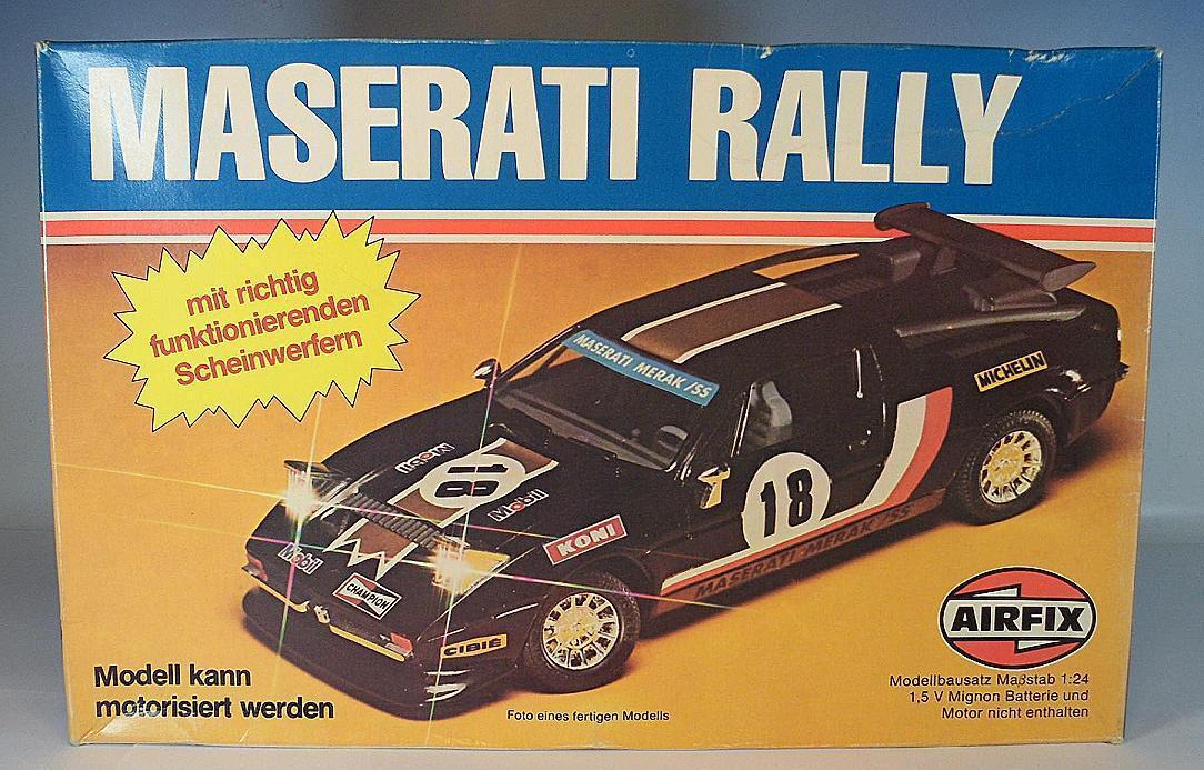 Airfix 1 24 Nr. 06466 Kit Bausatz Maserati Merak Rally OVP  3095  | Vorzügliche Verarbeitung