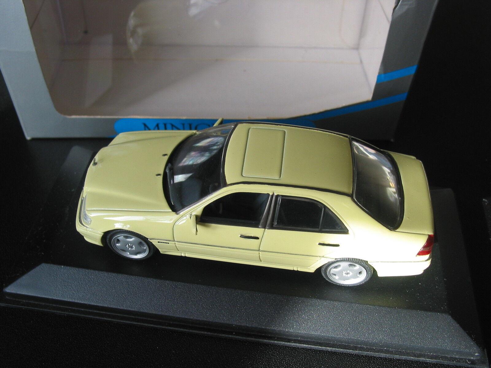 Mercedes AMG C36   W202  C CLASS  1 43 Minichamps SUPER RARE