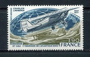 s11365-FRANCE-MNH-1977-Lindberg-1v
