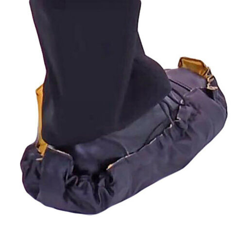 NEW 2PCS Automatic Sock Step in Sock Reusable One Step Hand Free Shoe Covers