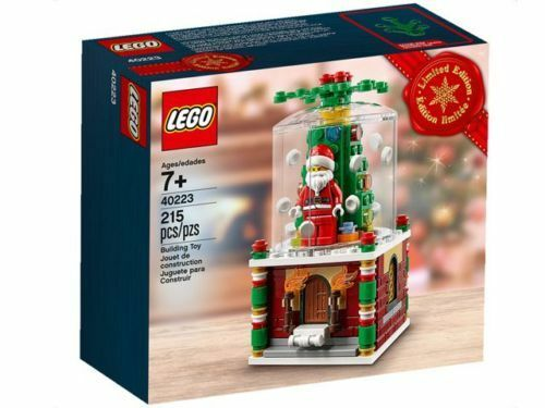 LEGO® 40223 Snowglobe Limited Edition 2016 Holiday Set - FACTORY SEALED
