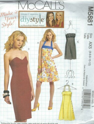 McCall/'s 5881 Misses/' Dresses     Sewing Pattern