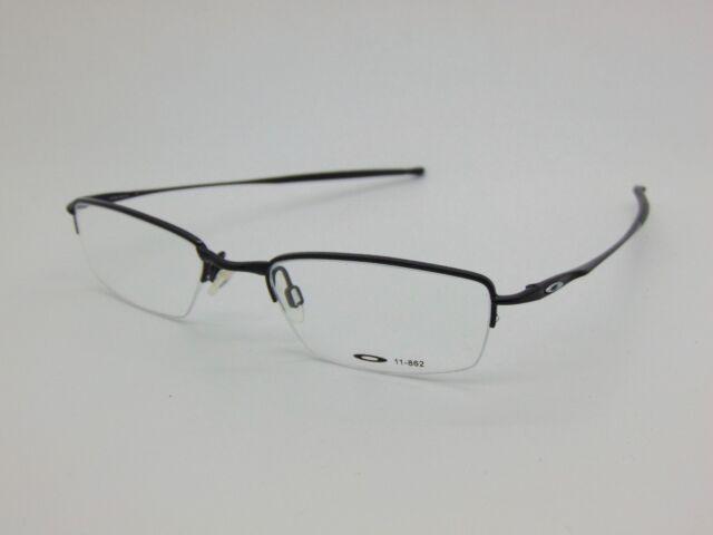3a3aad77539 New OAKLEY JACKKNIFE 4.0 11-862 Polished Black 51mm Rx Eyeglasses