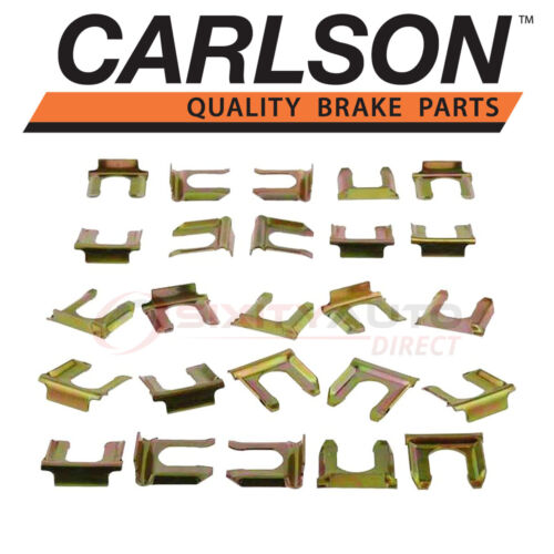 Carlson Rear Brake Hydraulic Hose Lock Clip for 2001-2013 Chevrolet qm