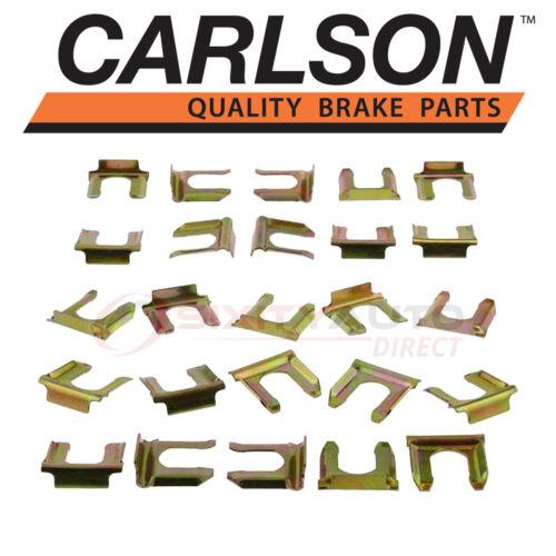 Carlson Rear Brake Hydraulic Hose Lock Clip for 2001-2013 Chevrolet qm