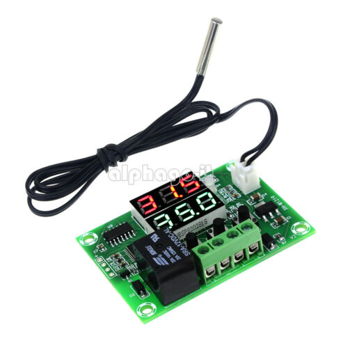 DC 12V Digital Dual LED Cycle Timing Delay Timer Relay Module Clock Controller F