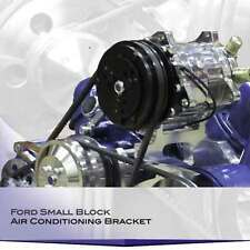 Ford Small Block Air Conditioning Bracket Sanden Compressor, AC A/C 302 289 351W