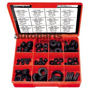 champion wiring grommets assortment kit 83 pieces 9313693100638 ebay rh ebay com au Door Wire Harness Grommet Door Wire Harness Grommet